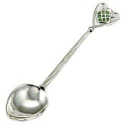 Серебряная ложка с эмалью Сюрприз 000043604