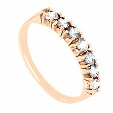 Золотое кольцо с сапфирами Passion