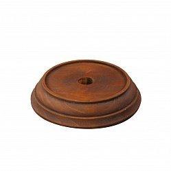 Деревянная круглая подставка под колокольчик, средняя, Ø84