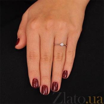 Золотое кольцо с бриллиантом Амира EDM-КД7528/1