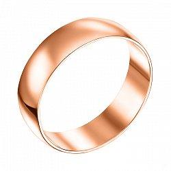Золотое обручальное кольцо Мелодия любви