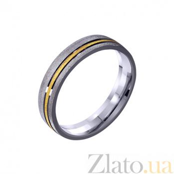 Золотое обручальное кольцо Влюбленное сердце TRF--411234
