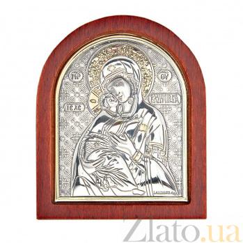Серебряная Владимирская икона Божьей Матери AQA--09112112