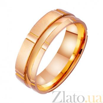 Золотое обручальное кольцо Счастье быть рядом TRF--4111364