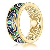 Мужское обручальное кольцо Талисман: Веры