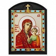 Автомобильная икона Божья Матерь Казанская, 12х8