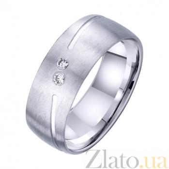 Золотое обручальное кольцо Океан чувств TRF--4221708