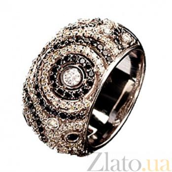 Золотое кольцо с бриллиантами Монреаль KBL--К1706/бел/брил