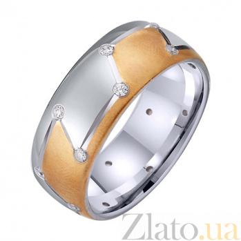Золотое обручальное кольцо Созвучие чувств TRF--422546