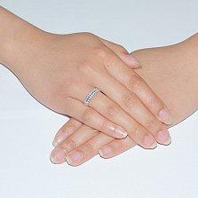 Золотое обручальное кольцо Беатрис