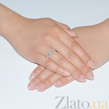 Золотое обручальное кольцо Беатрис TRF--4221908