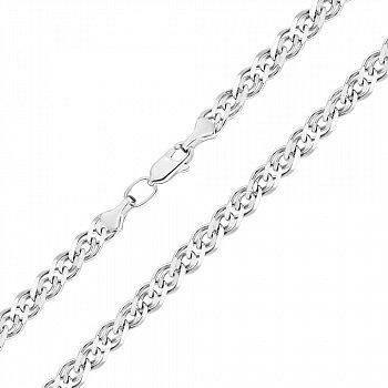 Срібний ланцюжок в плетінні нонна 000122946
