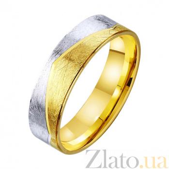Золотое обручальное кольцо Река любви TRF--431401