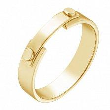 Кольцо Конструкция в желтом золоте