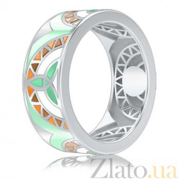 Обручальное кольцо из белого золота Талисман: Жизни 2993