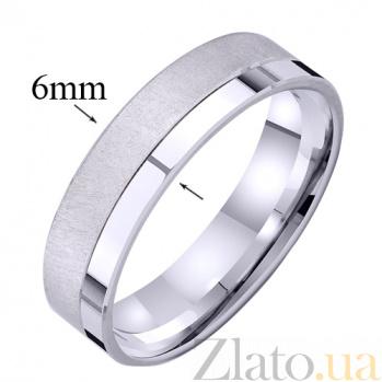 Золотое обручальное кольцо Совершенная любовь  TRF--421266