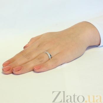 Кольцо из белого золота Сильвия SUF--140323б