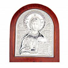 Иисус Христос серебро икона