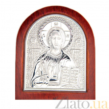 Иисус Христос серебро икона AQA--01112112