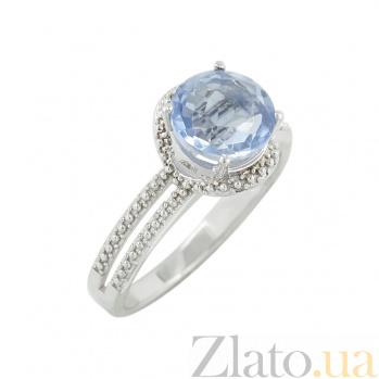 Серебряное кольцо с флюоритом Неоновый свет 000029348