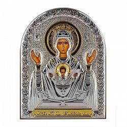 Икона Неупиваемая Чаша на деревянной основе, 8х11см