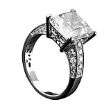 Золотое кольцо с бриллиантами Маркиза
