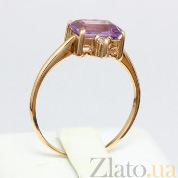 Кольцо из красного золота с аметистом Мадлен VLN--112-943-4