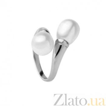 Серебряное кольцо Прозерпина с вытянутым жемчугом SG--1131833000001