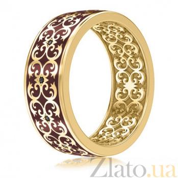 Мужское обручальное кольцо из желтого золота Калейдоскоп Любви: В ожидании Чуда 3434