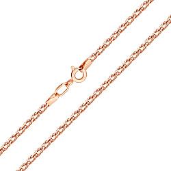 Золотая цепь в плетении ромб, 2мм 000071062