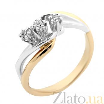 Золотое кольцо с бриллиантами Каллиопа VLA--11120