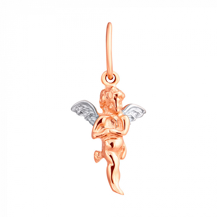 Кулон из золота Небесный Ангел EDM--П048