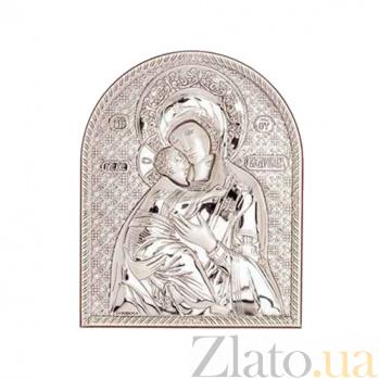 Серебряная Владимирская икона Богоматери