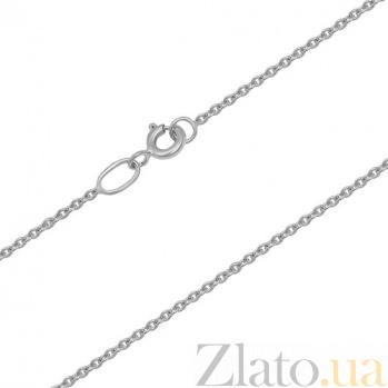 Золотая цепочка Форза в белом цвете LEL--12652б