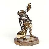 Серебряная статуэтка Бахус