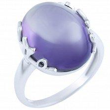 Серебряное кольцо Элоиза с александритом
