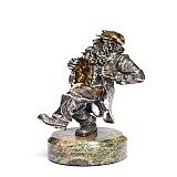 Серебряная статуэтка Танец
