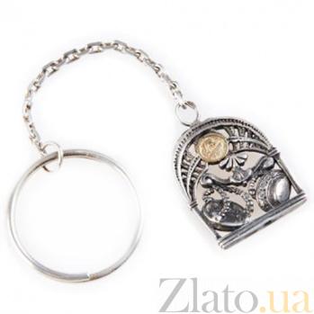 Серебряный брелок Знак зодиака Весы 925/весы