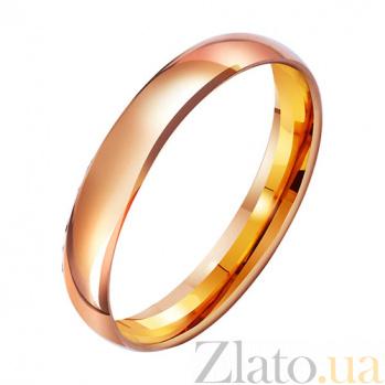 Золотое обручальное кольцо Вечная классика TRF--4110532