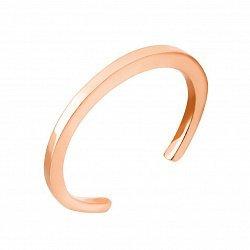 Фаланговое кольцо из красного золота 000104463