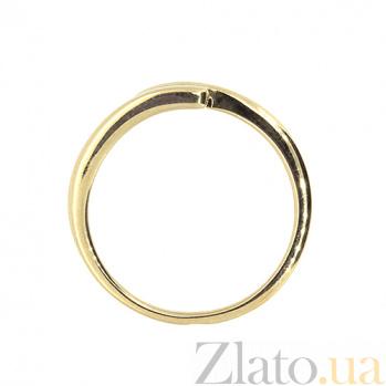 Кольцо из красного золота с бриллиантами Фани 000021466