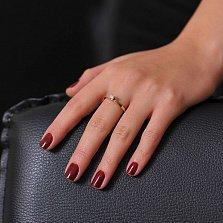 Кольцо из золота Мириам с бриллиантом