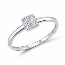 Кольцо из белого золота Дирана с бриллиантами