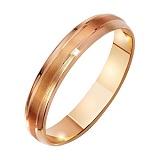 Золотое обручальное кольцо Палермо