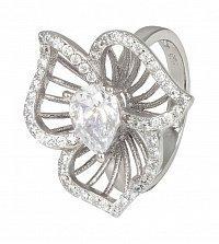 Серебряное кольцо Горицвет с фианитами