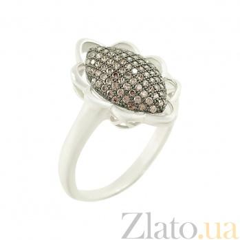 Серебряное кольцо с фианитами Агата 3К543-0049