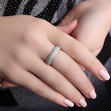 Серебряное кольцо Свидание