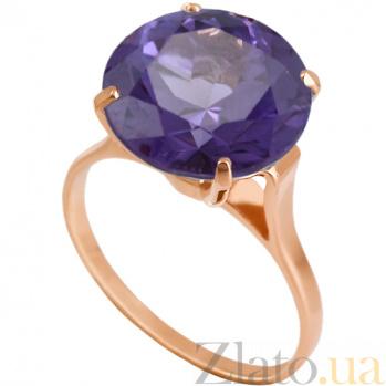 Золотое кольцо с александритом Диодора 000024506