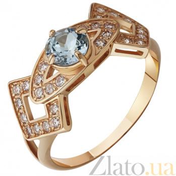 Золотое кольцо с топазом Патрисия AUR--31719 02