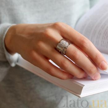 Серебряное кольцо Мак Мак
